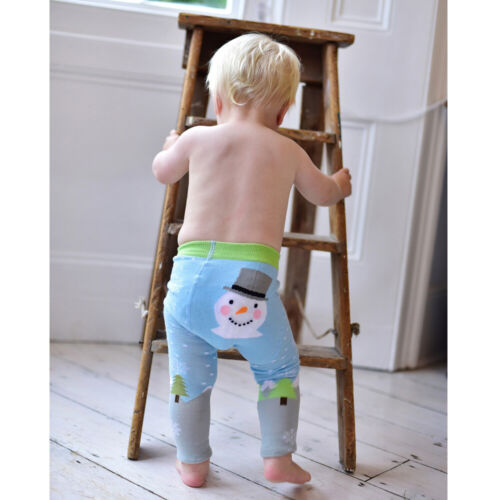 Christmas Xmas 6-12 months Powell Craft Snowman Baby Leggings 1-2 Years