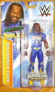 6accb751 Image is loading KOFI-KINGSTON-WWE-SUPERSTAR-ENTRANCES-TSHIRT-FIGURE-WALMART -