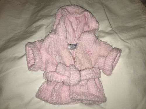 Build a Bear Light Pink Robe with Belt