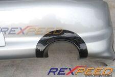 USDM Carbon Fiber Rear Bumper Exhaust Heat Shield (Fits Mitsubishi EVO 8 )