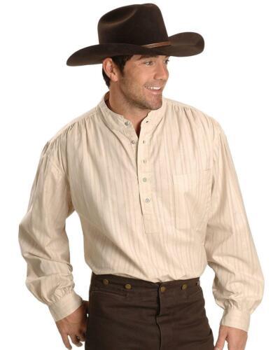 Rangewear By Scully Men/'s Rangewear Lightweight Railroader Long Sleeve Western