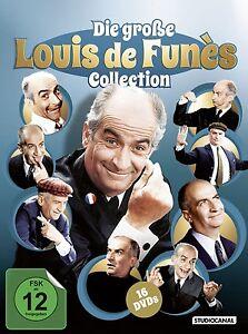 16-DVDs-DIE-GROSSE-LOUIS-DE-FUNES-COLLECTION-Louis-de-Funes-NEU-OVP