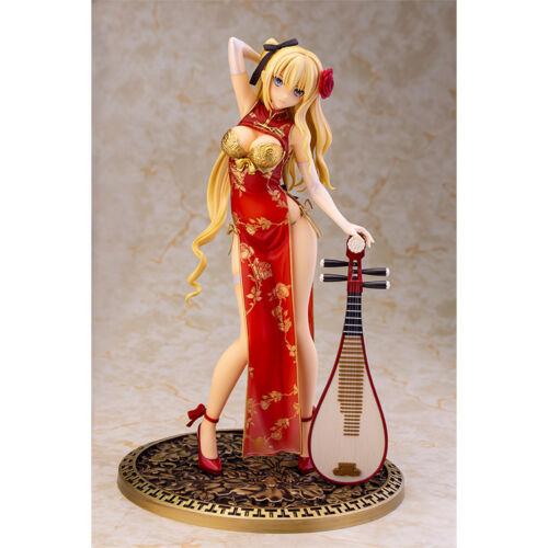 Anime T2 Art Girls Cheongsam Pan Jinlian PVC Figure Soft Ches red