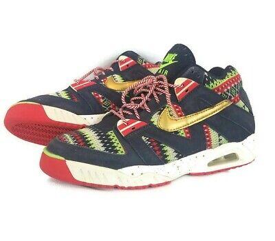 Christmas Shoes Nike.Nike Air Tech Challenge 3qs Ugly Christmas Sweater Mens Sneakers Sz 8