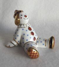 Royal Crown Derby SPOTTY CLOWN  - Paperweight / Figurine  MMIV