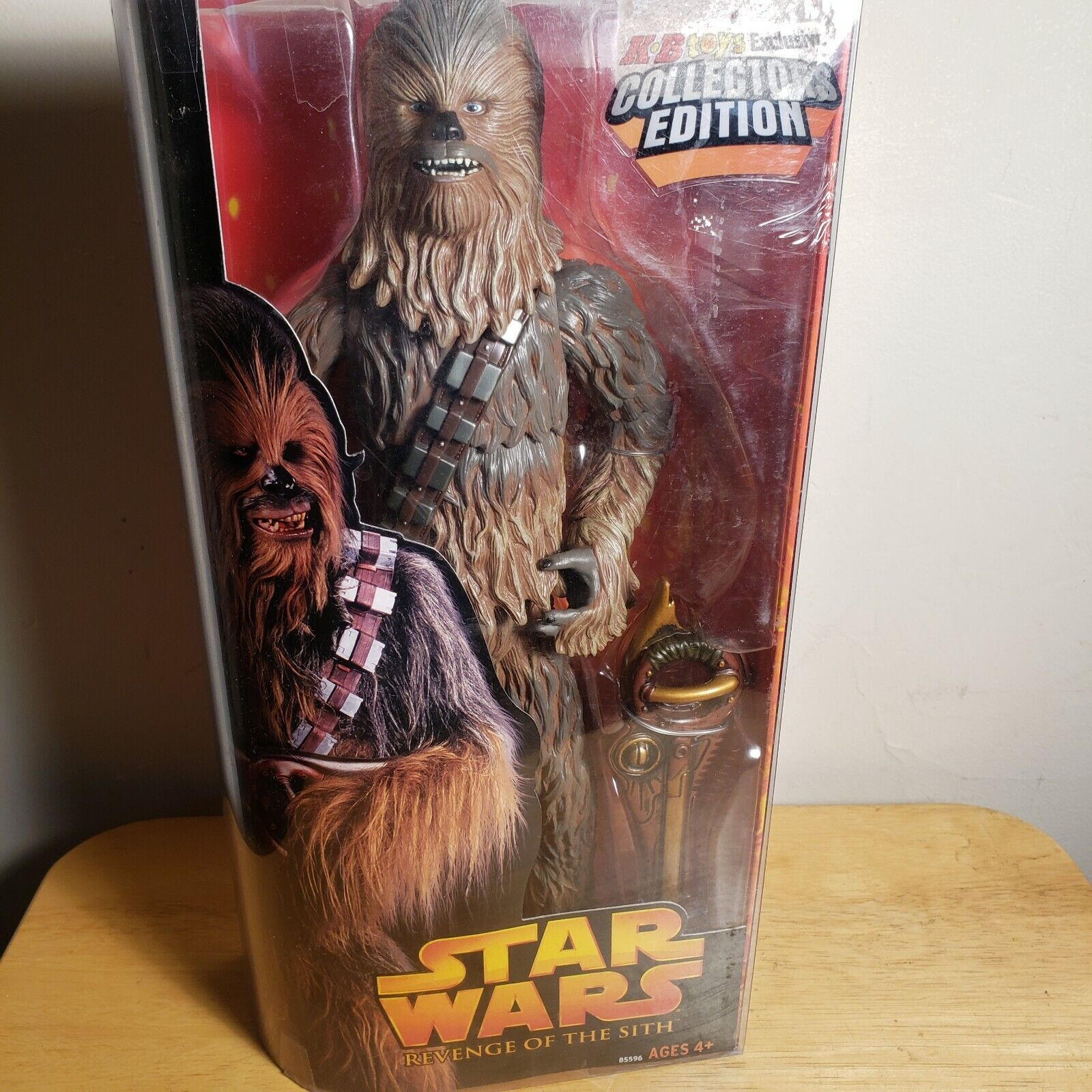 estrella guerras Revenge of the Sith 12 Exclusive Collectors edizione Chewbacca