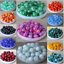 4mm-6mm-8mm-10mm-12mm-Natural-Quartz-Gemstone-Round-Spacer-Stone-Loose-Beads-DIY thumbnail 1