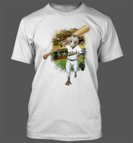 Rally Possum Men/'s T-Shirt Oakland Athletics A/'s Portion of proceeds donated