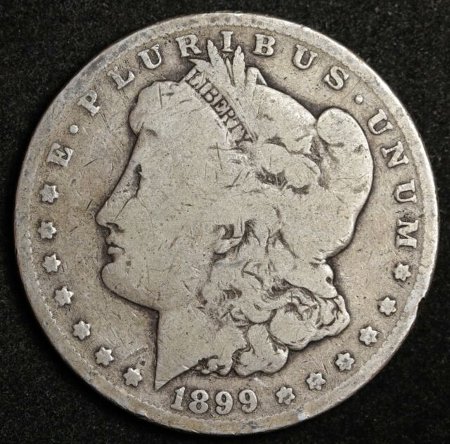1899-s Morgan Silver Dollar.  V.G.  134604