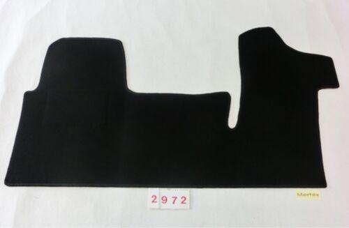 Bj ab 2010-.. Gen 2972 Art Fußmatte Fahrerhaus Opel Movano B  3-Sitzer 2