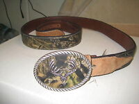 Nocona Belt Co.- N24380222 Genuine Leather Size 44