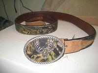 Nocona Belt Co.- N24380222 Genuine Leather Size 44