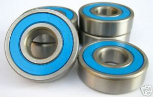 R6-2RS KLNJ3/8-2RS STAINLESS STEEL RUBBER SEALED BEARING - STAINLESS STEEL