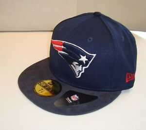 Cappello-NEW-ERA-team-mesh-mix-new-england-patriots-originale-visiera-piatta-blu