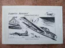 "maquette avion LUFTWAFFE  PLANET MODELS ZEPPELIN ""RAMMER""  German Project 1/48"