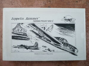 maquette avion LUFTWAFFE  PLANET MODELS ZEPPELIN RAMMER  German Project 1/48
