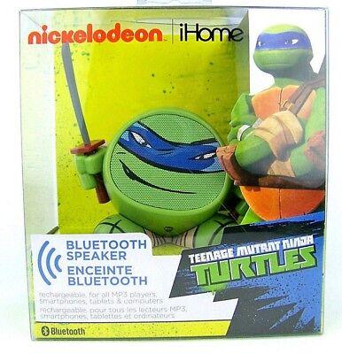 NIB  Bluetooth Mini Speaker Nickelodeon Teenage Mutant Ninja Turtles Leonardo