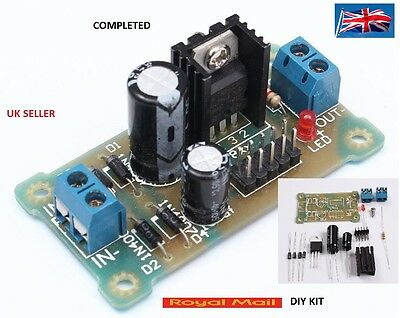 LM7809 Step Down 12V-35V to 9V Power Supply Module DIY Kit