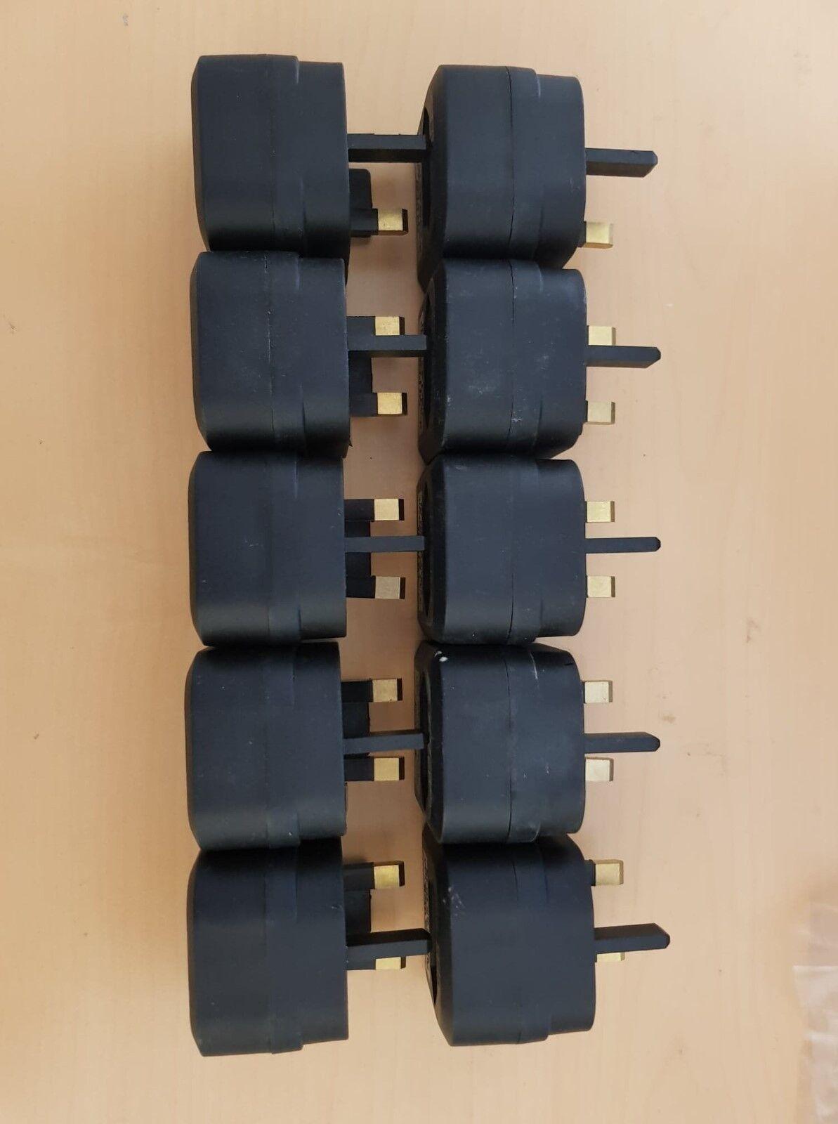 European 2 Pin UK 3 3 3 Broches Adaptateur-EU to UK Adaptateur 4672f4