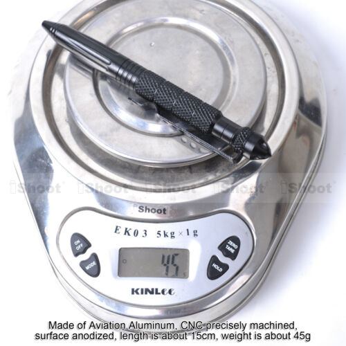 Pen Taktischer Kubotan Glasbrecher Kugelschreiber Stift Selbstverteidigung