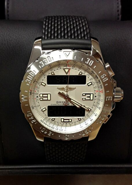 Breitling Airwolf A78363 Silver Dial - Box & Paperwork 2012 - Serviced!