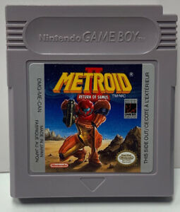 Metroid-2-Return-Samus-Nintendo-GameBoy-GB-Cart-Only-Authentic-NTSC-Game-Boy-Two