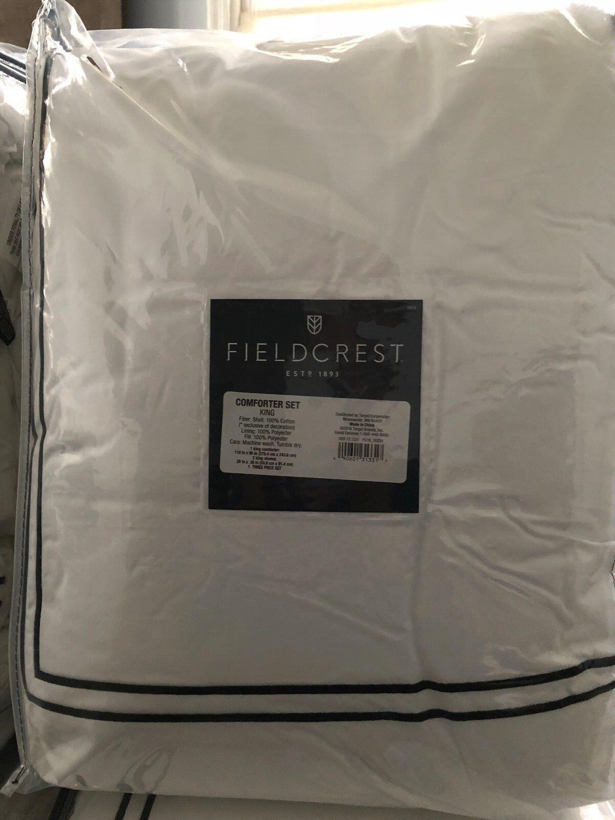 Classic Hotel Comforter Set - Fieldcrest King Size