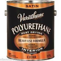 2 Gal Varathane Voc Interior Wood Clear Satin Oil Based Polyurethane 9132
