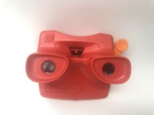 Vintage-View-Master-3D-TYCO-Red-Classic-Viewmaster-Slide-Viewer