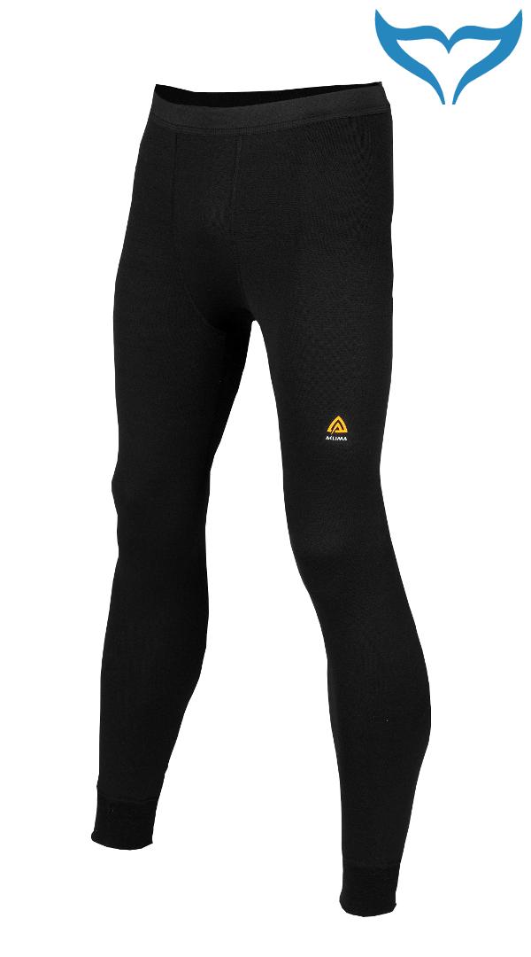 Aclima Hotwool Long Pants schwarz S XL XXL XXXL Funktionswäsche Merino Wool 230 g