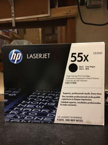 M525 500mfp HP 55X CE255X Black Toner Print Cartridge P3015