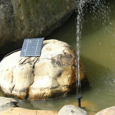 7V 0.8W Solar Power Water Pump Waterpump Pool Pond Garden Fountain NEW