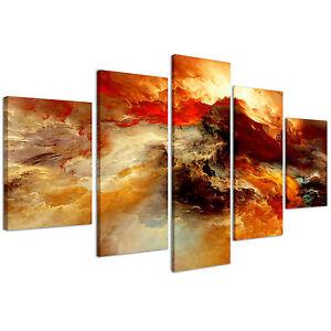 Stampe su tela 200 x 90 cm quadri moderni xxl astratto for Stampe arredo casa