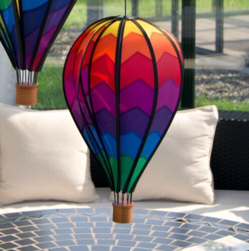 Windspiel Heißluftballon MOUNTAIN wetterfest Garten Deko Balloon Ø28cm x 48cm  c