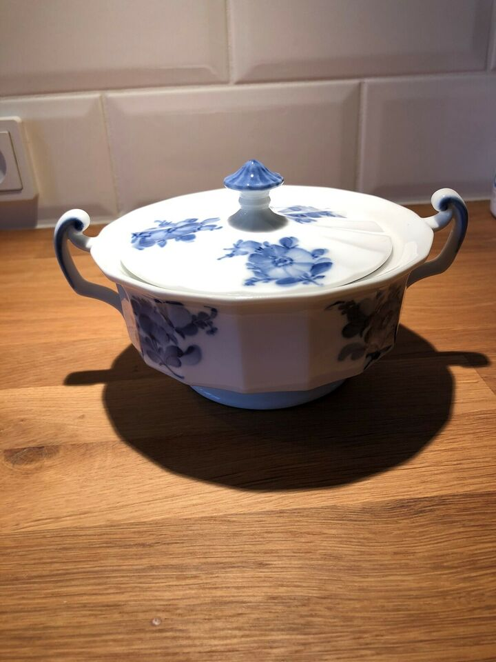 Porcelæn, Blå blomst , Royal Copenhagen