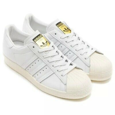 sale retailer 5daeb e6472 Adidas Superstar 80's Deluxe Mens Trainers Size UK 11.5 (EUR 46 2/3) New  RRP £90 91209926932 | eBay