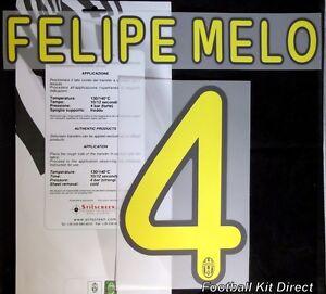 961d5b332 Juventus Felipe Melo 4 2008 09   2009 10 Football Shirt Name Set Kit ...