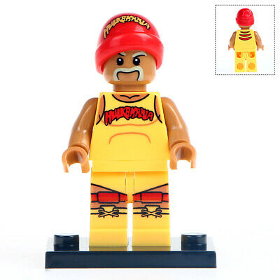 Wrestling Mini Figure NEW UK Seller Fits Major Brand Blocks Hulk Hogan