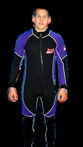 Wetsuit 5 MM size Small to 6X Plus Size Arm   Leg zippers Stretch ... ba70148da