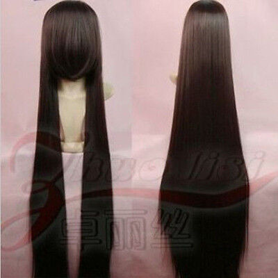 """FREE! 150CM  59"""" Long Straight Heat Resistant Cosplay Fashion Wig  Party FULL"""