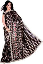 Seller Discount Bollywood Wedding Jaccard Sequin Sari Saree VENTRE DANSE ROBE NW