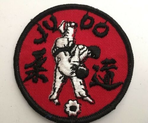 "Vintage /""JUDO/"" Patch 70s Martial Arts Self Defense Deadstock NOS Made in USA"