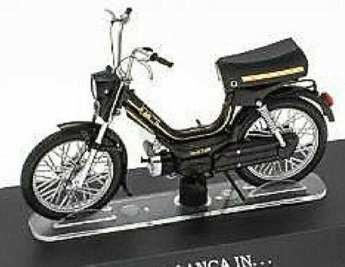 Malanca en 50 cc ciclomotor ciclomotor ciclomotor negro Black 1:18 Atlas