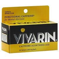 Vivarin Caffeine Alertness Aid, Tablets 40 Ea (pack Of 8) on sale