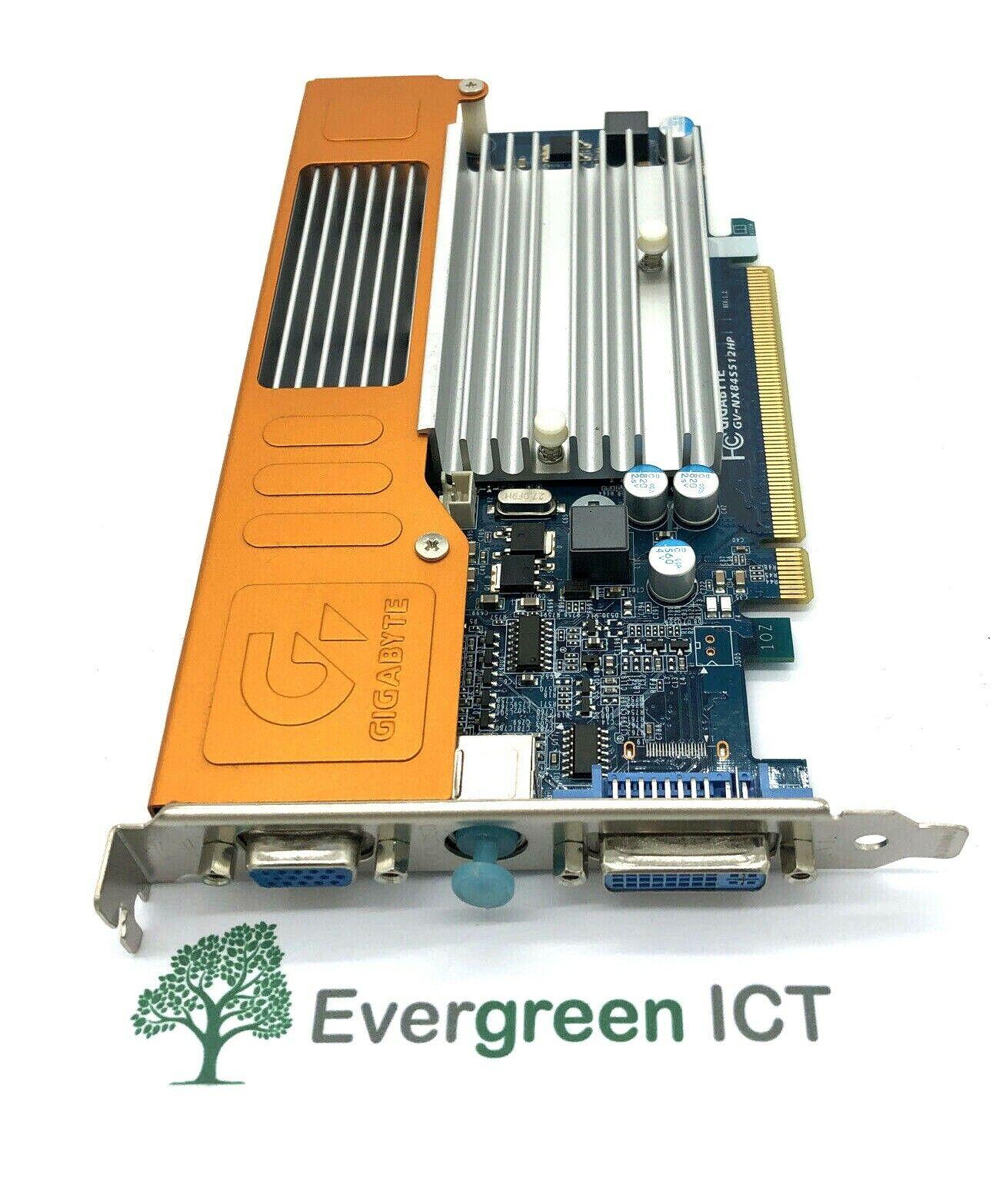 Gigabyte GV-NX84S512HP 8400GS 512MB DVI S-Video VGA Graphics Card