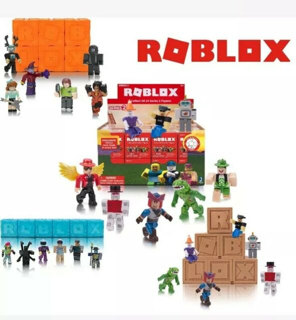 Three Random Supplied Roblox NEW Series 5 Mystery Figure Blind Packs