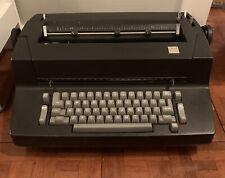 1970s Vintage Ibm Selectric Ii Correcting Electric Typewriter Black Parts Only
