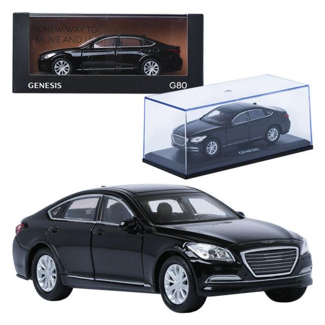 Treforze 1 38 Hyundai Genesis G80 Black Display Mini Car Miniature