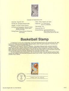 9137-29c-Basketball-Stamp-2560-USPS-Souvenir-Page