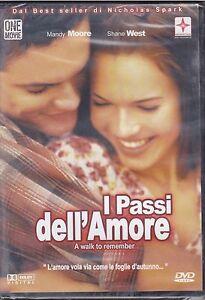 Dvd-I-PASSI-DELL-039-AMORE-di-Nicholas-Spark-nuovo-2002